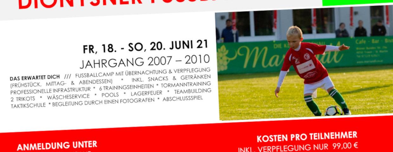 Dionysner Fußballcamp / JG 2007 - 2010