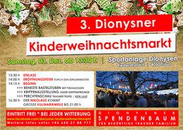 3. Dionysner Kinderweihnachtsmarkt