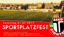 Sportplatzfest 2017